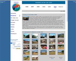 Webseite der Althofdrachen bis 2009