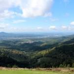 Schöne Aussicht vom Startplatz der Althofdrachen