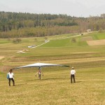 Althofdrachen Start- und Landetraining