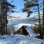 unsere Rampe im Winter