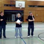 Trainer v.l. Rolf Böttcher, Werner Wolf, Martin Lohse