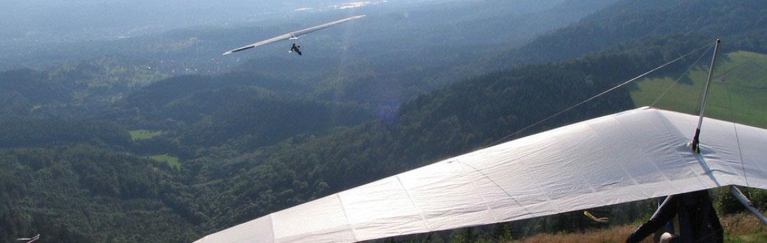Drachenfliegen im Nord-Schwarzwald bei den Althofdrachen
