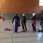 Rettungsgeräte packen bei den Althofdrachen 2017